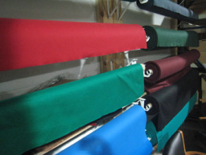 Rolla pool table recovering table cloth colors
